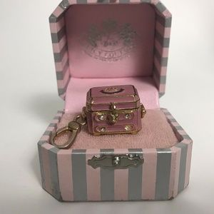 Juicy Couture Pink Open Jewelry Box Charm Chest